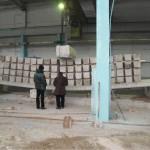 Испытание плиты перекрытия изготовленной методом безопалубочного формования