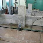 Испытание типового узла стыка сборно-монолитной балки и колонны