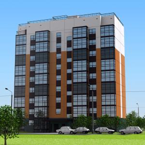 Панельный 9-ти этажный жилой дом для ДСК с современными технологическими линиями